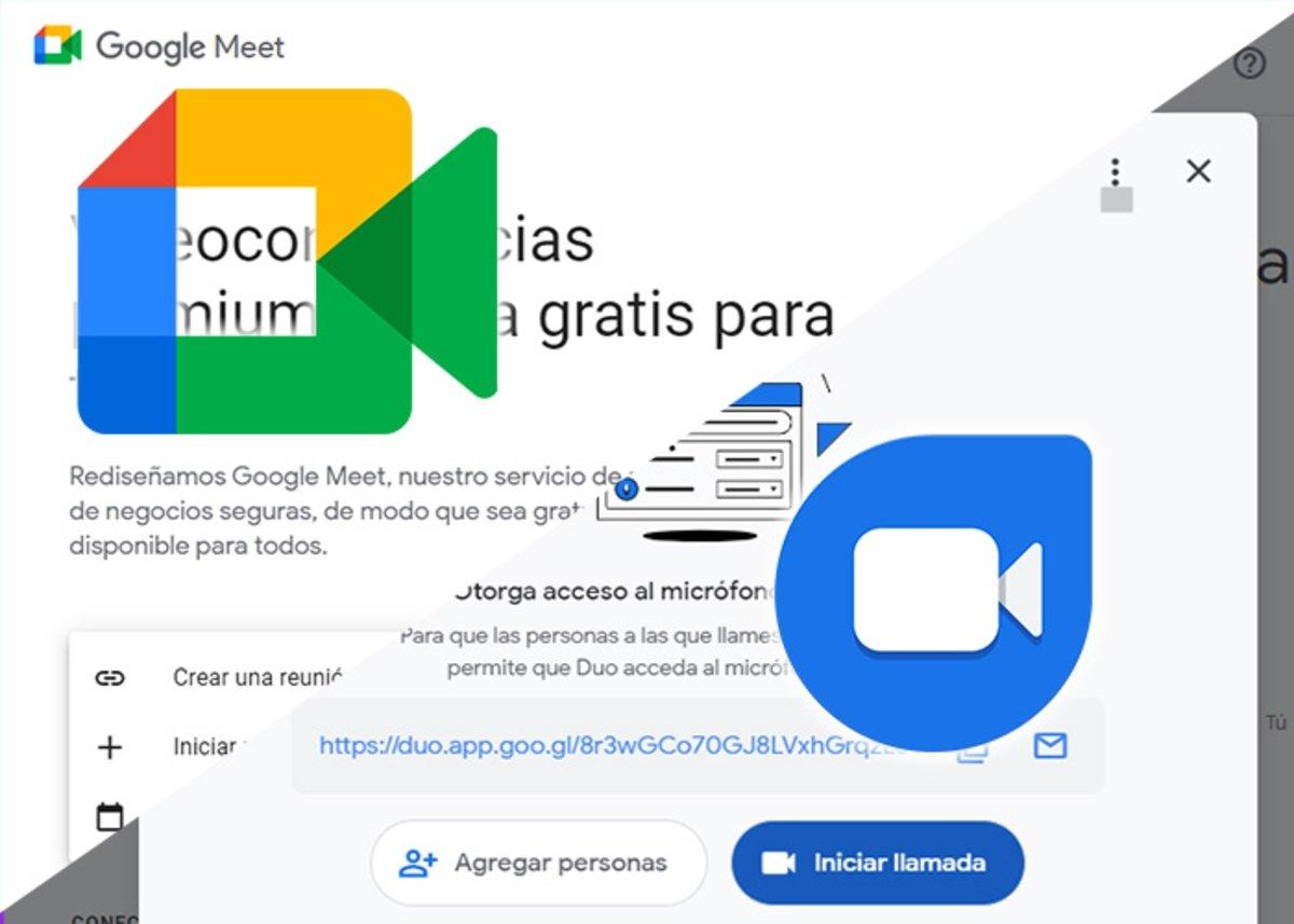 Google मीट या Google डुओ मुझे किसका उपयोग करना चाहिए