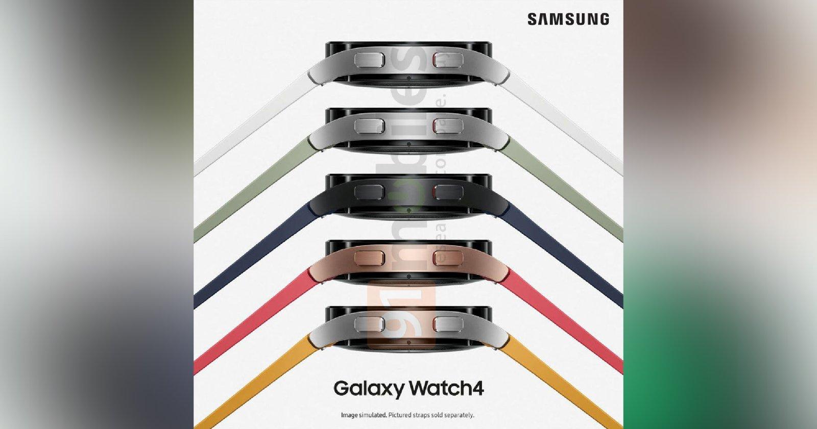 Samsung Galaxy Buds2 और Galaxy Watch4 आधिकारिक छवियों में लीक हुए हैं