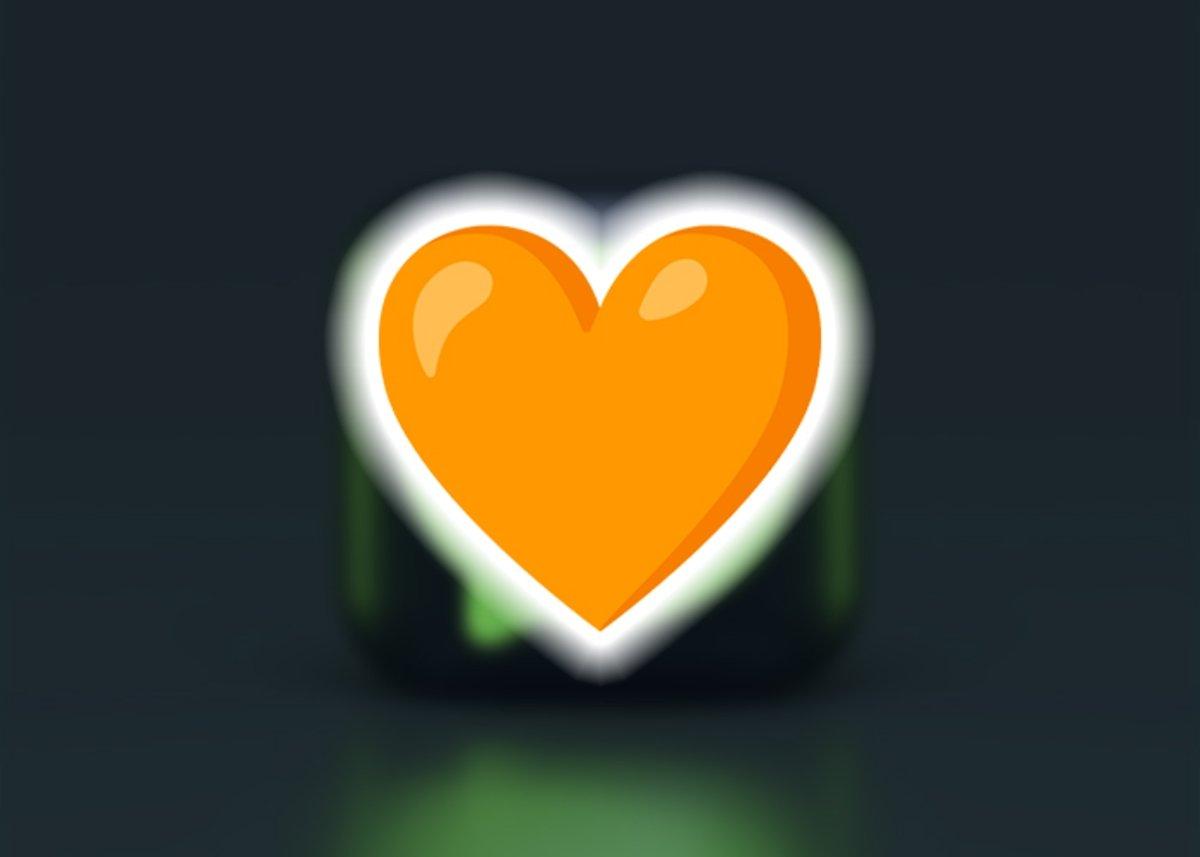 नारंगी दिल