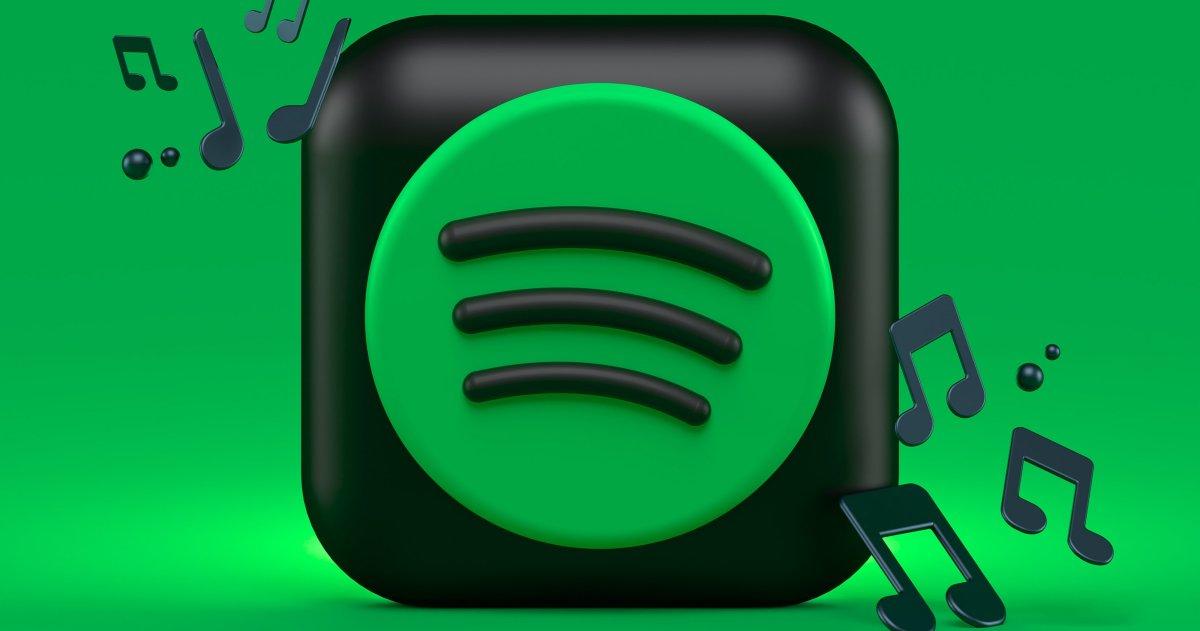 El icono de la app de Spotify