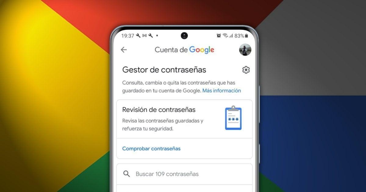 Gestor contraseas Google