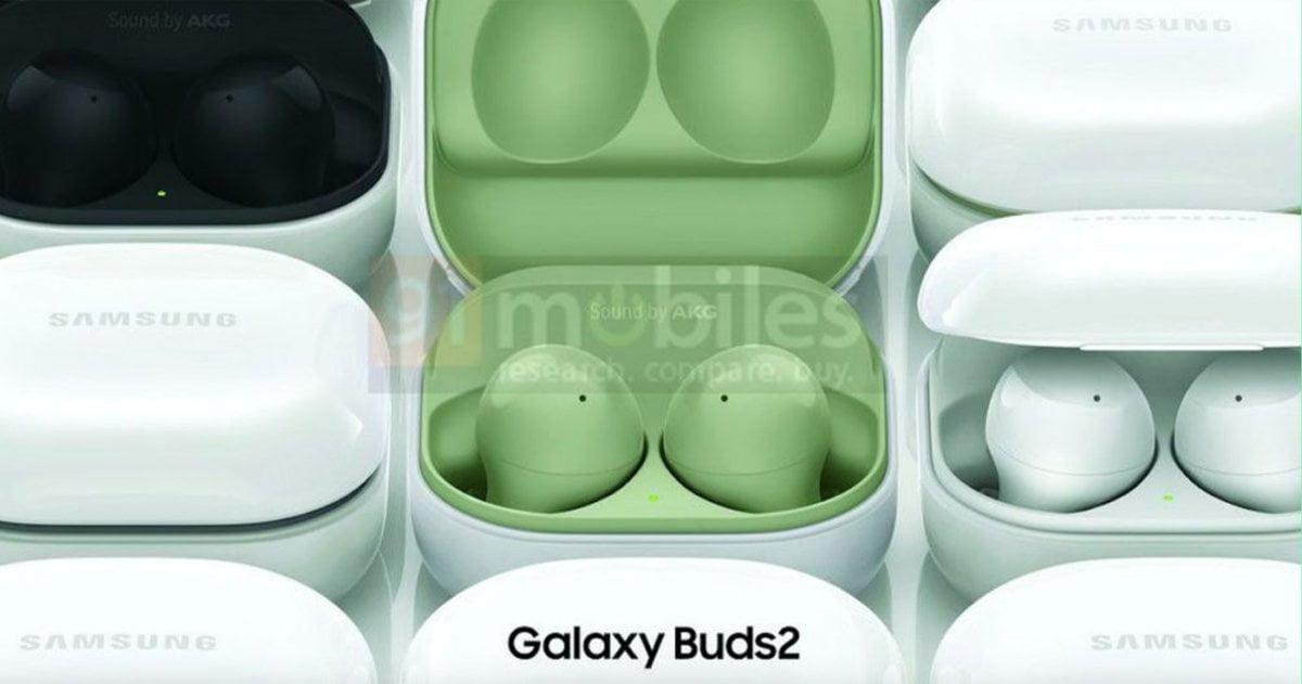 Samsung Galaxy Buds2 en color verde