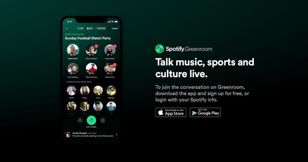 Spotify Greenroom 1