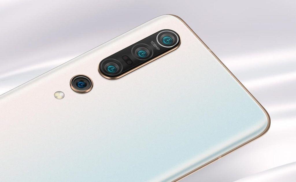 Xiaomi Mi 10 Pro का बैक