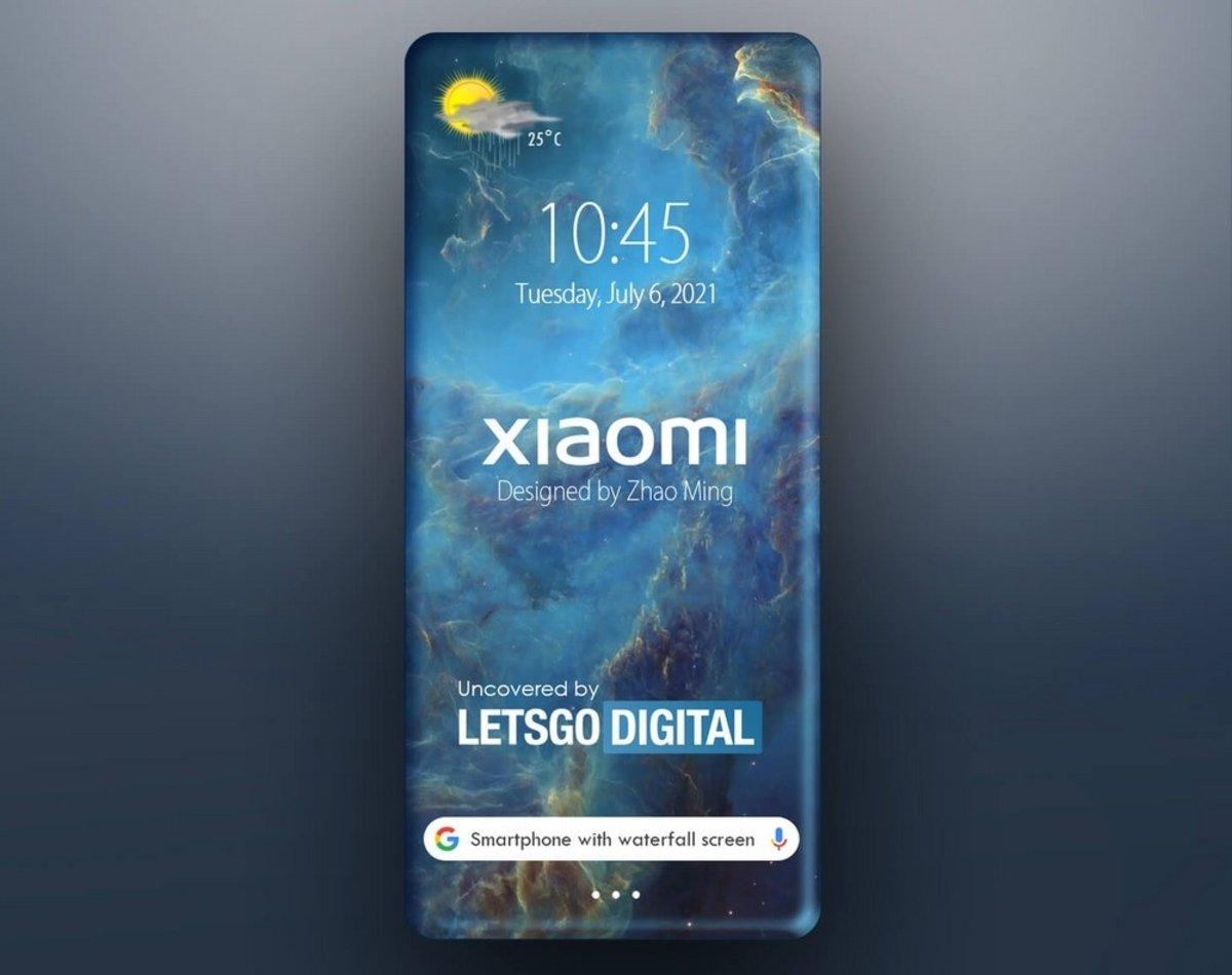 रैपराउंड स्क्रीन के साथ नया Xiaomi पेटेंट