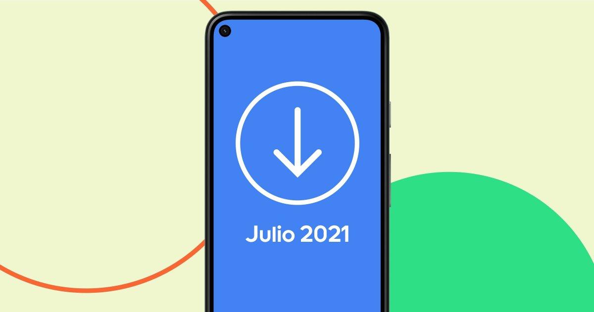 Actualizacin Android de julio de 2021