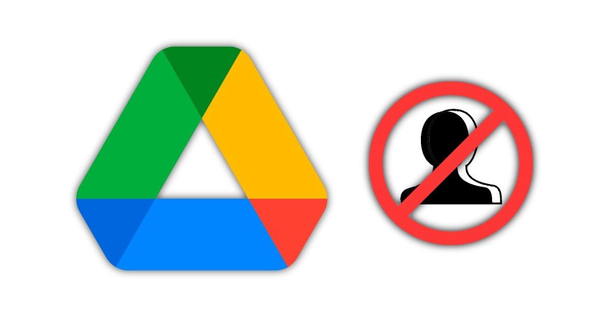 Google डिस्क उपयोगकर्ताओं को अवरोधित करें