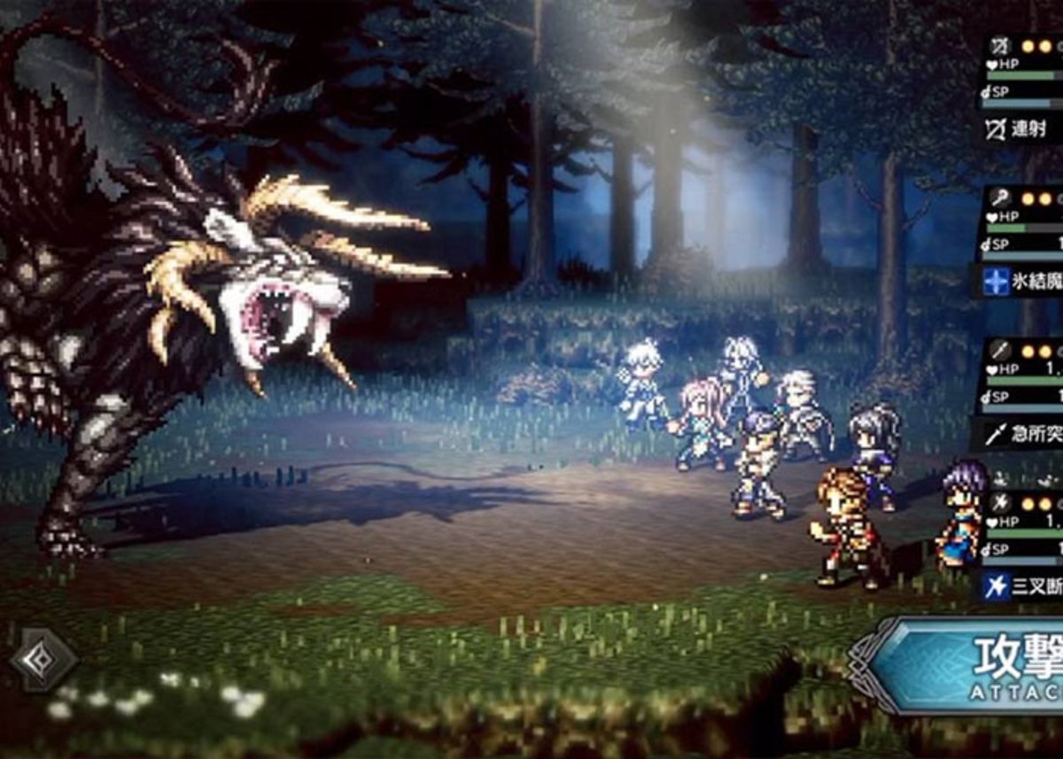 Octopath Traveler-hi माइक्रोसॉफ्ट क्लाउड गेमिंग