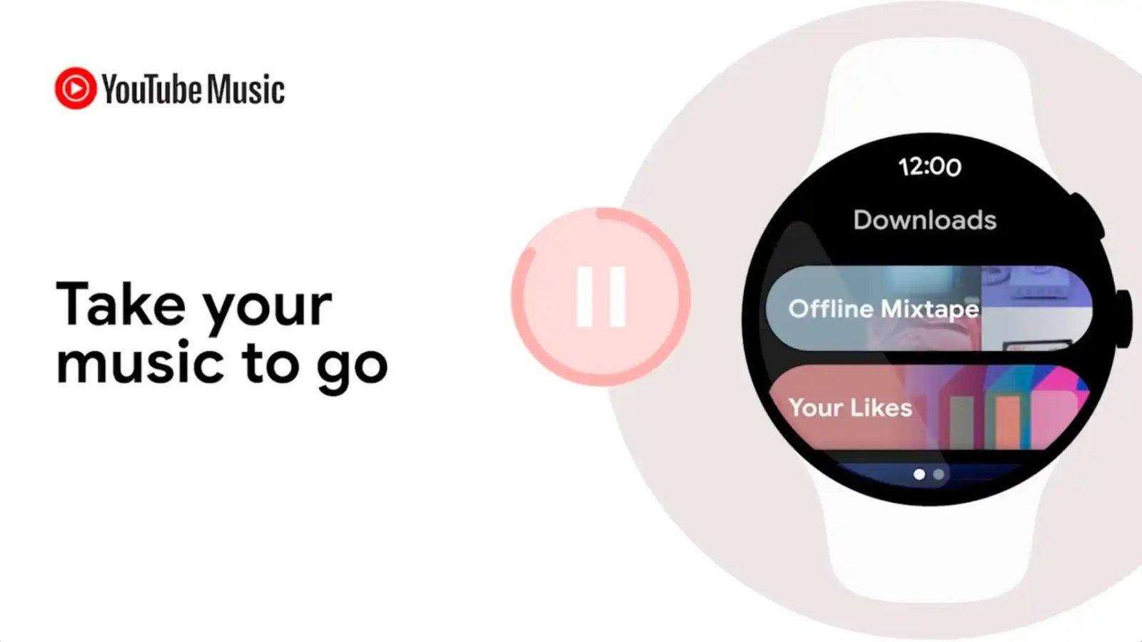 YouTube Music Wear OS के लिए आता है