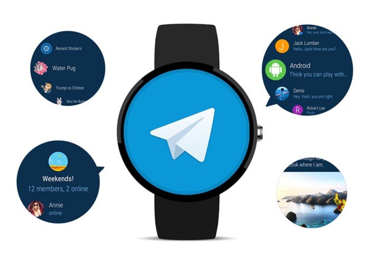 टेलीग्राम अब Wear 2.0 . के साथ संगत है
