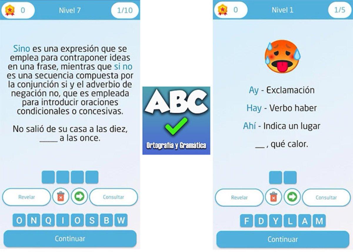 स्पेनिश वर्तनी और व्याकरण का खेल