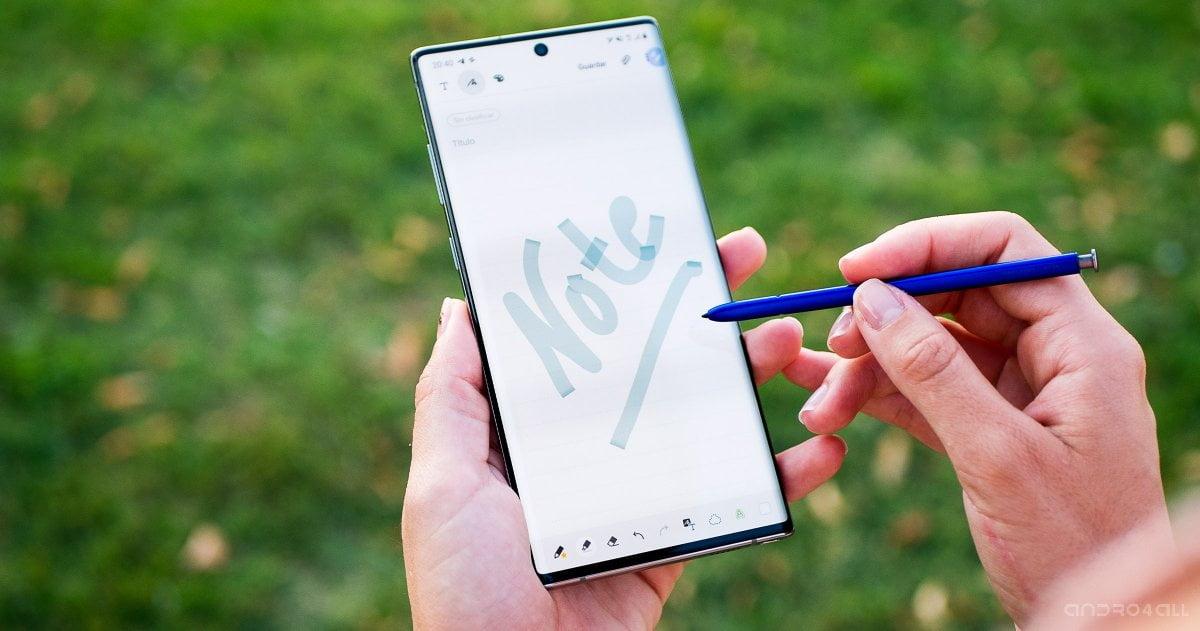 El Samsung Galaxy Note10 se ha actualizado con el parche de seguridad de julio