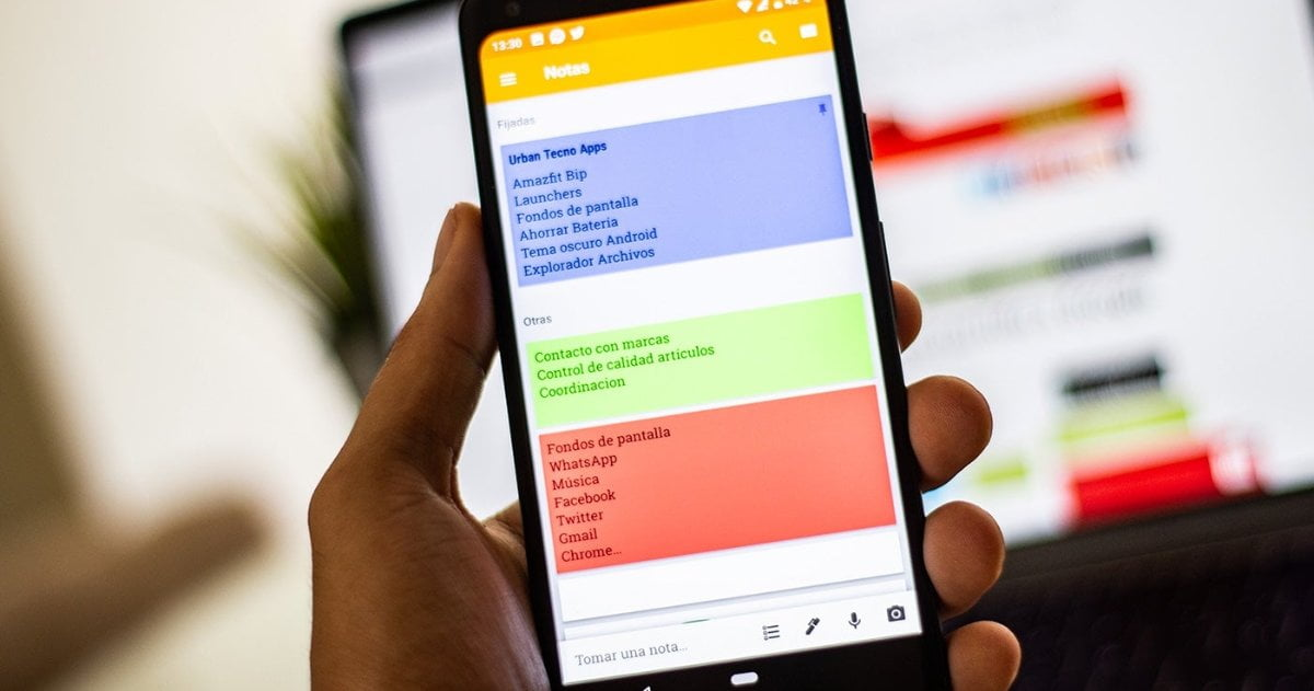 Google Keep App