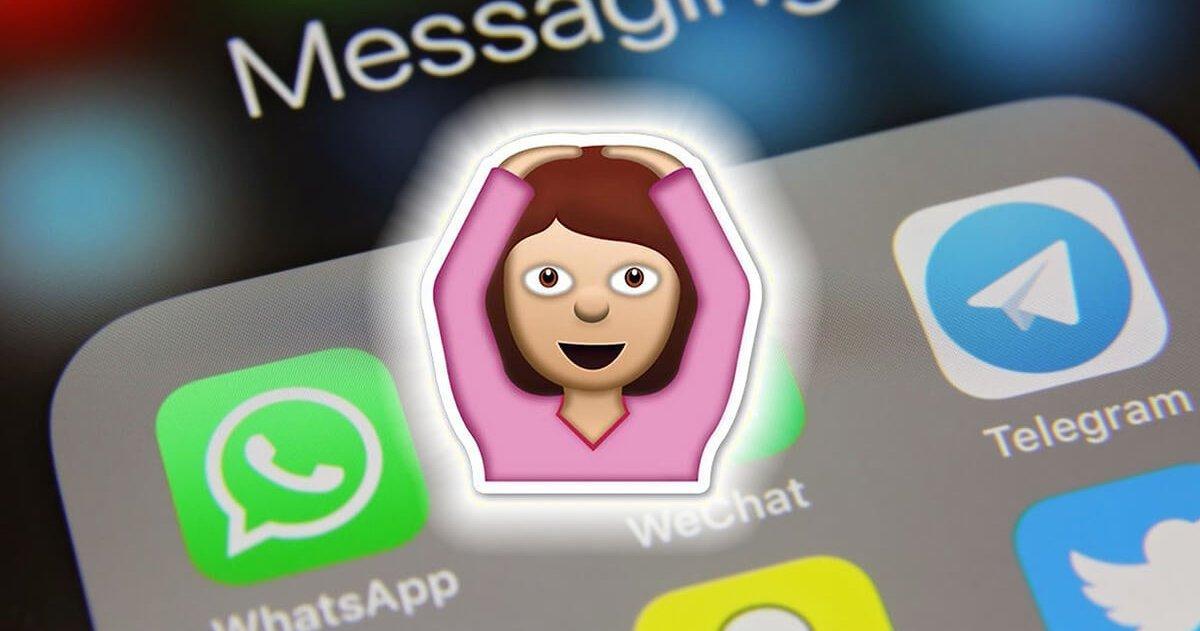 WhatsApp el significado real del emoji con las manos en la cabeza