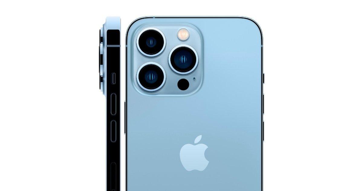आईफोन 13 प्रो रियर कैमरे